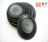 A arte de melamina louça Dinnerware Jantar Set chapa redonda (LJP006)