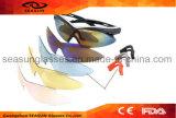 عالة يطبع علامة تجاريّة ينهي زجاج تزحلق [إور] نساء رجل درّاجة [موونتين بيك] نظّارات شمس