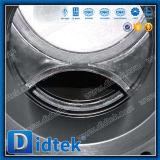 Didtek API 6Dデザインフランジはコンジットのゲート弁を通して炭素鋼の平板を終了する