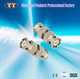 Câble de télécommunication du best-seller usinant le connecteur rapide en aluminium anodisé