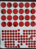 Aufkleber-Kennsatz-Farben-Druckpapier-Plastikgummi