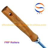 Rodillos de pintura de aluminio de los rodillos del resorte para los procesos de FRP