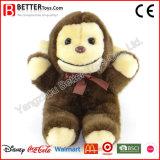 Giocattolo molle della scimmia dell'animale farcito della peluche di ASTM per i capretti/bambini