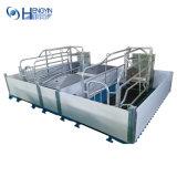 Longa vida de serviço inteiramente galvanização a quente de suínos do tubo de parição crate
