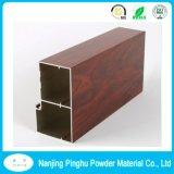 Polvo de aluminio de la mueca de madera que cubre la pintura de aluminio constructiva del polvo del perfil