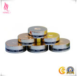 Tampas de alumínio do parafuso da impressão da tela para o empacotamento cosmético