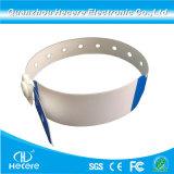 Uma vez personalizado Use UHF RFID de Longo Alcance à prova de China pulseiras de papel ajustável
