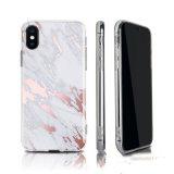 Moda TPU luxuosa em mármore Caso Telefone Celular para iPhone x