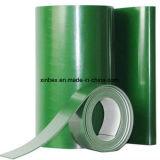 2mm 가닥 녹색 전자 포장 공장 디스트리뷰터를 위한 편평한 PVC 컨베이어 벨트