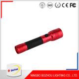 Lampe-torche légère de la torche DEL, lampes-torches en aluminium du rouge DEL