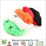Halloween-Stretchable Polyester-Mehrfarbenarmkreuz-Web-Partei-Dekoration