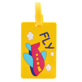 Bagage bloqué d'identification de valise de course d'étiquette personnalisé par course de vacances d'étiquette d'identification d'étiquette -adresse d'étiquette de valise d'étiquette de bagage (YB-t-002)