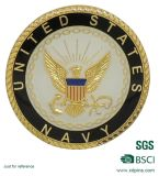 Défi plaqué or Coin pour les souvenirs de l'armée (SCS-121)