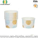 Оптовая торговля печатной платы одноразовые мороженого Гелато Экономи бумагу чашка для бассейна реки Амазонки склад