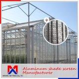 Comprimento 10m~100m de tela de sombreamento do clima interno para as emissões