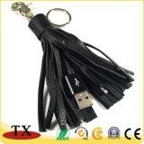 Flash USB controlador de promoción de cuero