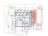 Motor diesel para el generador, motor, motor de la potencia 4jr3abd para el conjunto de generador