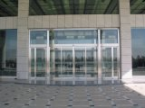 자동적인 센서 유리제 미닫이 문을 이중 유리를 끼우는 상업적인 알루미늄 합금