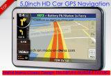 """Heißer Auto-LKW des Verkaufs-5.0 """" Marine-GPS-Navigation mit Wince GPS-Nautiker, FM Übermittler, Handels-in der hinteren Kamera, Hand-GPS-Navigationsanlage"""