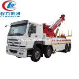 6 Vrachtwagen van Wrecker van het Slepen van de Terugwinning van de Weg van de Plicht van het wiel de Lichte