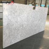 Цвет самого лучшего качества белый с серым цветом Veins кварц больших слябов белый каменный