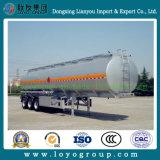 반 3axle 탄소 강철 기름 연료 디젤 엔진 탱크 트레일러