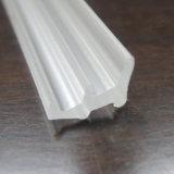 Bande en plastique de cachetage d'Al-Alliage de PVC clair de porte et de guichet