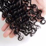 비꼬인 곱슬머리 직물은 100% 사람의 모발 연장을 묶는다