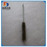 Cooper de latón de hierro galvanizado recubierto de girar el cepillo de limpieza de tuberías