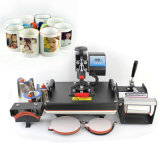 30*38 Digital Sublimation-Platten-Schutzkappen-Becher-Shirt-Drucken 5 in 1 Shirt-Wärme-Presse-Maschine