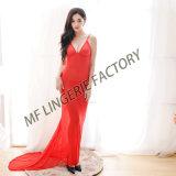 Mfのランジェリーの工場新しい到着は好色な女性の長くセクシーなランジェリーを成熟させる