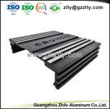 Extrusión de perfiles de aluminio para alojamiento de amplificador para el coche con la norma ISO9001