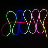 옥외 Indoor Decoration 12V 360 Degree 16mm SMD2835 Round LED Neon Flex, Flex LED Neon Rope Light