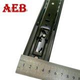 diapositiva completa del cajón del rodamiento de bolitas de la extensión de la anchura de 45m m de las guarniciones de los muebles