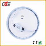 超薄い円形12With18With24W LEDの軽いパネルの屋内ランプ