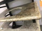 Granito, mármore, parte superior da vaidade de quartzo e bancada de pedra da cozinha