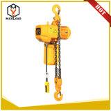 5t 5m de elevación de 380 V polipasto de cadena de uso de materiales