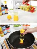 Flasche Baster Pinsel für BBQ - Pinsel-Speicher mit Nicht-Verstopfensilikon-Doppelöl-Pinsel-Platz-SparerCruet, Olivenöl-Essig-Salatsoßen-Zufuhr Esg10302 gießen