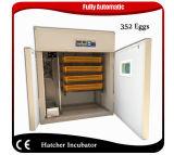 高品質352の卵の家禽はセッターのHatcherの定温器機械に卵を投げつける