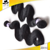 Paquets péruviens non transformés de attirance de cheveux humains de 100%