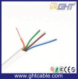 Par trançado de cabo UTP Cat5e para Ethernet/2 Paré Cabo de telefone