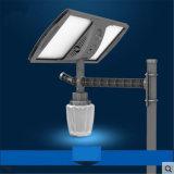 Réverbère solaire extérieur de 15W 2100lm IP65 imperméable à l'eau avec le contrôle léger automatique