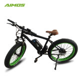 48V 500W à la mode des pneus neige de sable de matières grasses vélo électrique