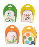 Beaux sacs à main de sac de déjeuner de couleur d'arc-en-ciel pour le travail/école