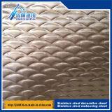 Scheda di goffratura stereo dell'acciaio inossidabile anti - lamiera di acciaio del mosaico 556