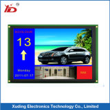 Écran LCD blanc positif fait sur commande Smartie de la température large