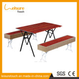 Restaurant/hôtel/banquet/salle à manger/Table de conférence Ensembles de meubles de jardin en plein air en aluminium