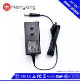 Qualität 24W Wechselstrom-Gleichstrom-Adapter 12V 1.5A mit UL/cUL/FCC Zustimmung