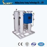 Generador ahorro de energía del nitrógeno de la antioxidación de la pureza elevada para el corte para corte de metales del laser