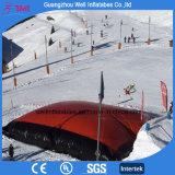 Salto gonfiabile personalizzato dello Snowboard del sacco ad aria di formato di formato grande per lo sport della neve di inverno